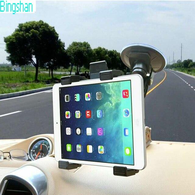 "Universal 7 ""-10"" suporte ventosa cradle suporte para ipad air 2 mini4 carro tablet pc titular 360 rotating suporte gps/dvd"