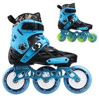 3 Rad/4 Räder Inline Skates Xuanwu Roller Slalom Skate konvertieren Inline Speed Skates Rahmen Basis für SEBA Power Benutzer