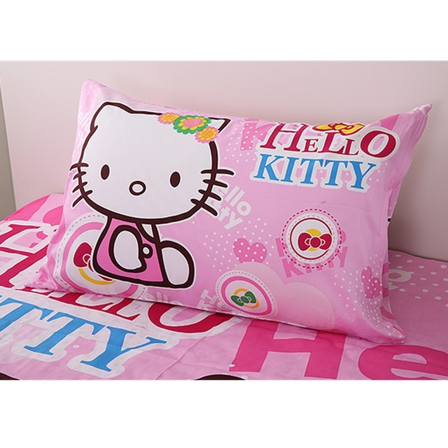 kids bedroom for girls hello kitty. Baby Girls Hello Kitty Pillowcase/Kids Princess Mermaid Hatsune Miku School Single Bed Pillow Cover Kids Bedroom For A