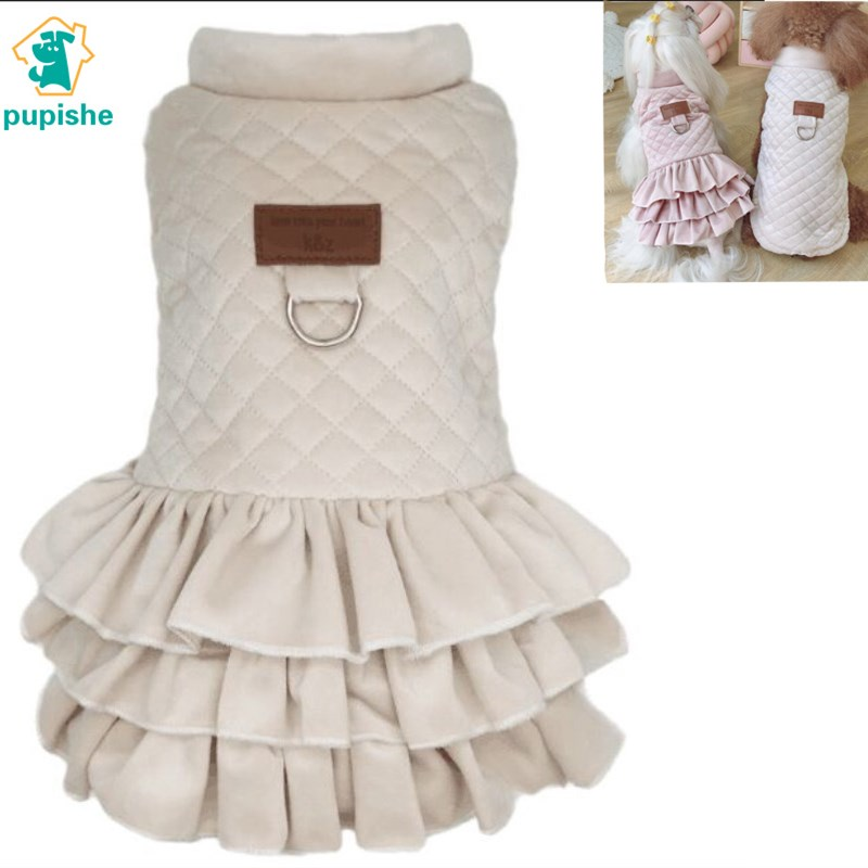 Dog Clothes Pet For Dogs Pets Clothing Winter Dog Sweater Small Medium Pet Cat Dress For