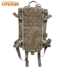 SPANKER Molle High Quality Nylon Water Bottle Pouch Hydration Backpack Military Army Multi-Mission Survival Hydration Rucksack