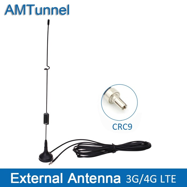 3G אנטנה עם CRC9 מחבר 3G חיצוני אנטנת 7DBi WCDMA2100MHz אנטנה עבור Huawei 3g נתב E156 E156G e160E USB מודם