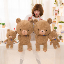 30cm creative light up led teddy bear stuffed animals plush toy colorful glowing teddy bear christmas gift for kids 65cm Creative Teddy Bear Stuffed Animals Plush Toy super soft Teddy Bear Christmas Gift for Kids