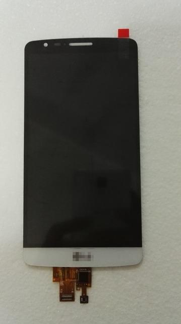 Blanco / negro / oro pantalla LCD para el LG G3 Stylus D690 D690N D693 + pantalla táctil digitalizador asamblea