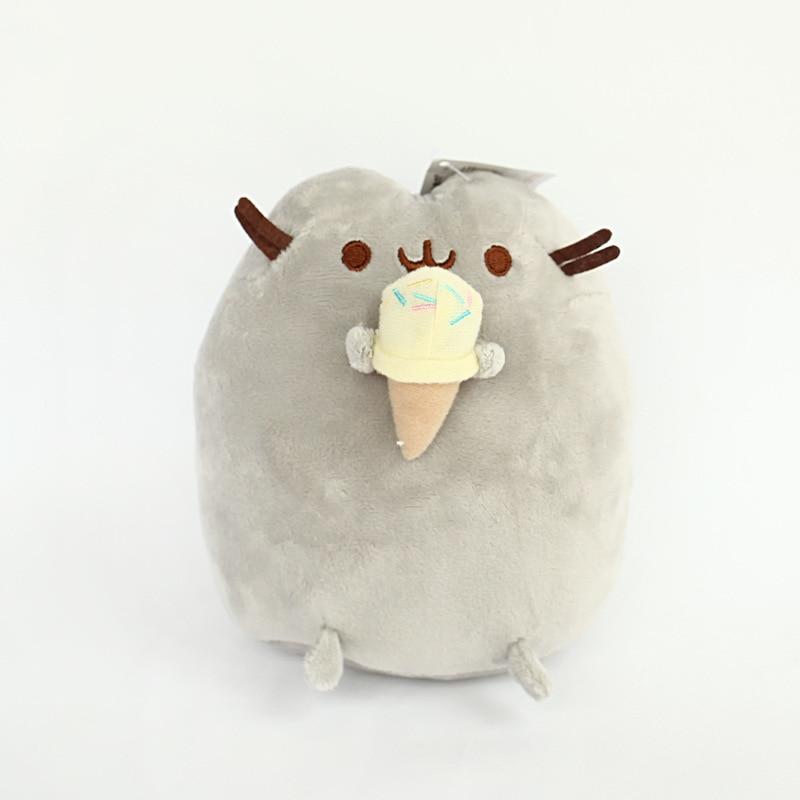5 шт./лот 25 см PusheenCat Cookie мороженое Doughn торт плюшевые игрушки пончики Кот Мягкие плюшевые Животные игрушки для детей детский подарок