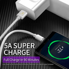 DUX DUCIS 5A USB Type C Cable for Huawei P20 Pro P10 P9 Plus Mate 10 PU Fast Charge USB-C Cable for Samsung S9 S8 Oneplus 6 New