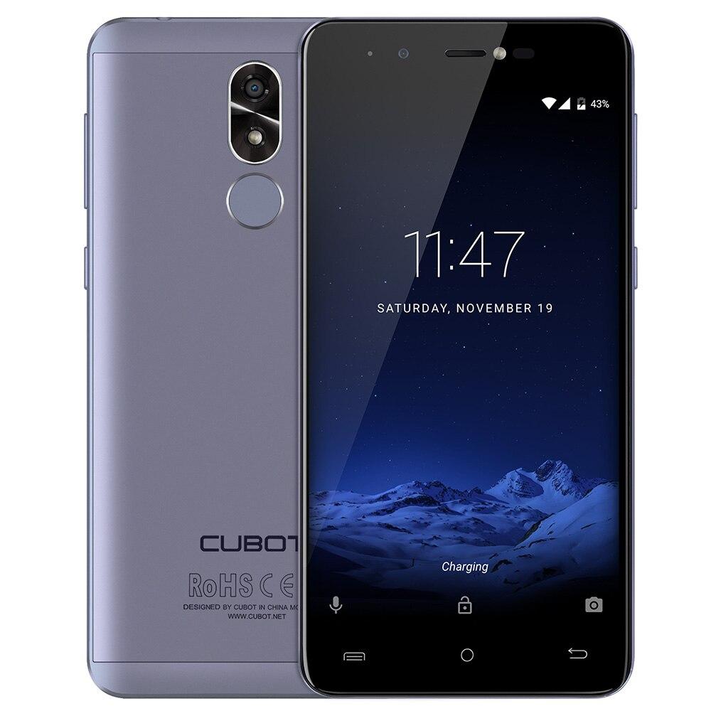 CUBOT R9 3g Smartphone Android 7.0 5.0 pollice IPS Dello Schermo MTK6580A Quad Core 1.3 ghz 2 gb di RAM 16 gb 13.0MP Posteriore Della Macchina Fotografica di Impronte Digitali