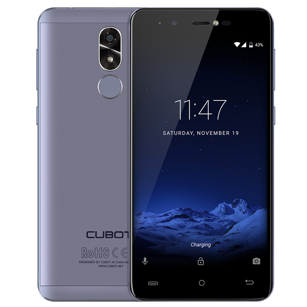 CUBOT R9 3g Smartphone Android 7.0 5.0 pouce IPS Écran MTK6580A Quad Core 1.3 ghz 2 gb RAM 16 gb 13.0MP Arrière Caméra D'empreintes Digitales