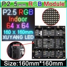Panel LED RGB de 64x64 p2.5 1/32, pantalla de vídeo para pared, módulo a todo color para interior, SMD 3 en 1, paneles LED RGB