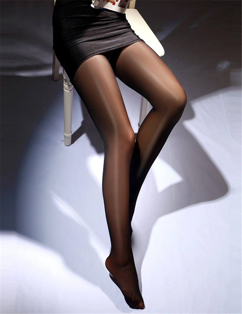 2135 Solid Black High Quality Woman Stocking Sexy Sheer Lace Hold-up Nylon Stockings Soft Warm Women Stocking Elastic Leg Wear