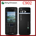 Original Unlocked Sony Ericsson C902 3G 5MP Bluetooh MP3 MP4 Player Refurbished Cell phone one year warranty