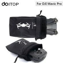 DOITOP Suave Bolsas de Almacenamiento de Bolsa de Transporte Para Mavic Pro Drone DJI y Bolsa de Bolsillo en La Manga Para DJI Aviones de Control remoto A Prueba de agua #3