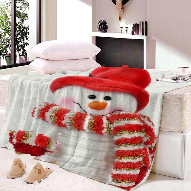 christmas decorations for home blanket on beds kids christmas throw blanket sofa cover rainbow puppy thin