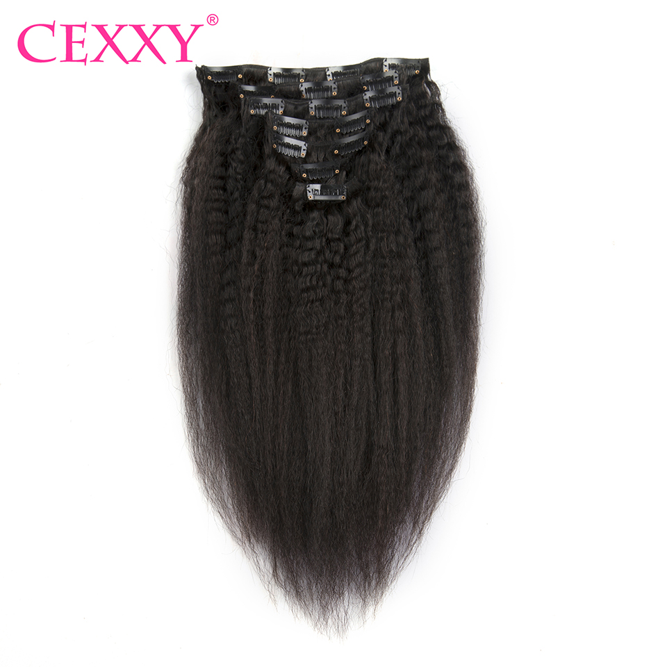 Natural Human Hair Clip In Extensions
