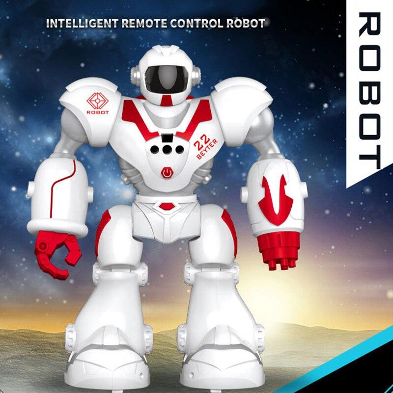 RC Robot Intelligent Jouet USB De Charge Robot avec lumière LED, dire une histoire Programmable Robot Jouet pour Garçons Enfants Cadeau D'anniversaire