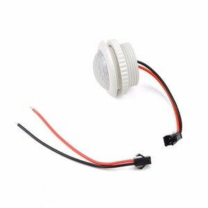Image 2 - 220V PIR Hareket Sensörü Anahtarı ON/OFF IR Kızılötesi Insan vücudu Indüksiyon sensörlü ışık Kontrol Dedektörü Modülü 50HZ