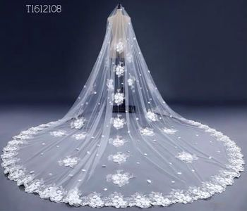 Beading Bridal veil for Wedding Accessories One Layer Wedding veils  Hot Sell EE2108