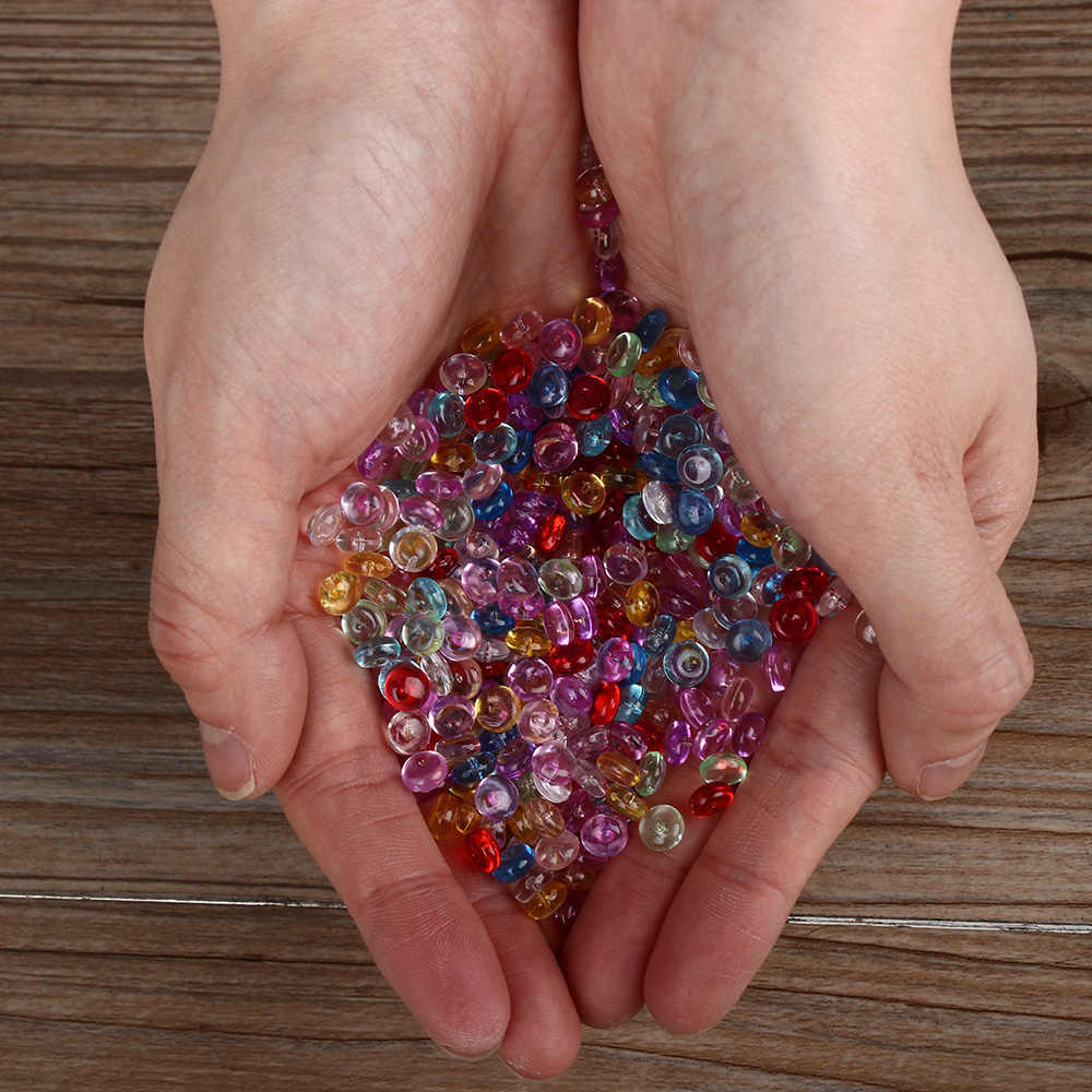 500Pcs/Bag DIY Fishbowl Beads DIY Slime Decoration 7mm Diameter Styrofoam Filler Beads For Slime Craft Tools Home Decoration