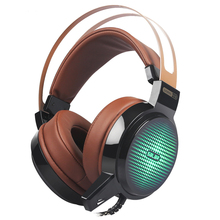 Promo offer C13 Wired Gaming Headset Deep Bass Game Earphone Computer headphones with microphone led light headphones for computer pc