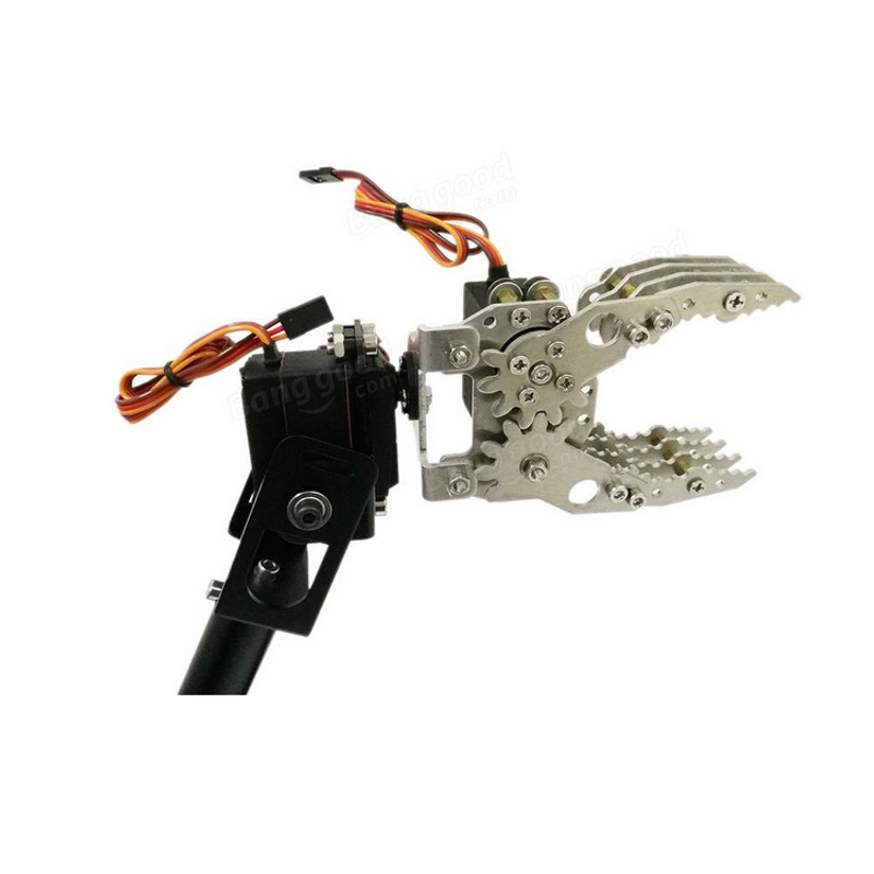 цены Metal Robotic Claw/Gripper,Robot Mechanical Claw CL-4, Mechanical Arm Clamp Compatible Manipulator Gripper Claw For DIY Robot