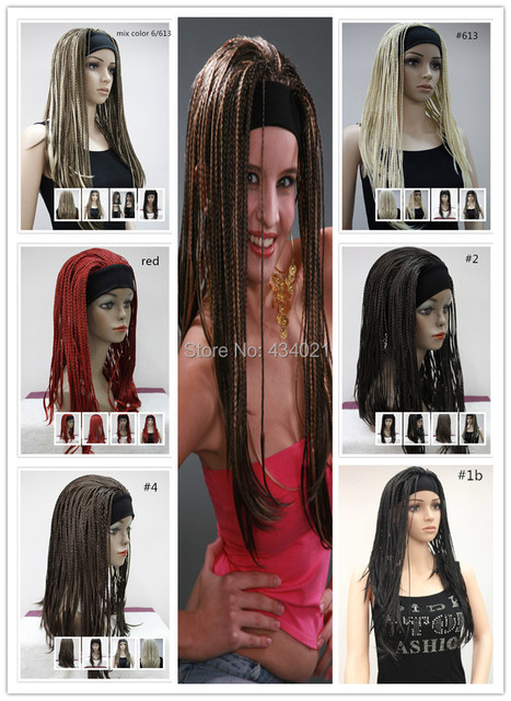 Pure Hand Made 6 Color Twist Braids Wigs Whole Plaits Free Shipping