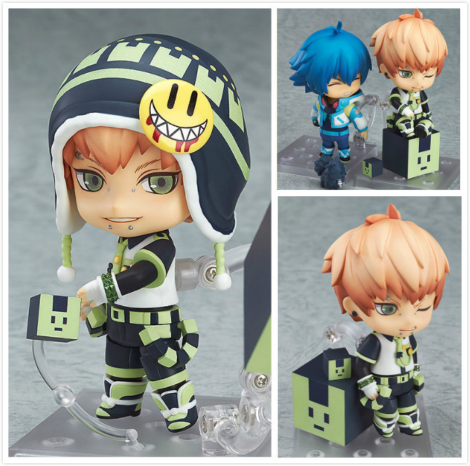 Free Shipping Cute 4 Nendoroid DMMD DRAMAtical Murder Noiz Boxed 10cm PVC Action Figure Collection Model Doll Toy Gift #487 murder in clichy