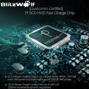 Image 5 - BlitzWolf 18W Quick Fast Charge 3 Universele USB Adapter Telefoonlader Micro USB kabel Type C Mobiele telefoonaccessoires Opladen QC 3.0 voor iPhone Voor Huawei Voor Xiaomi
