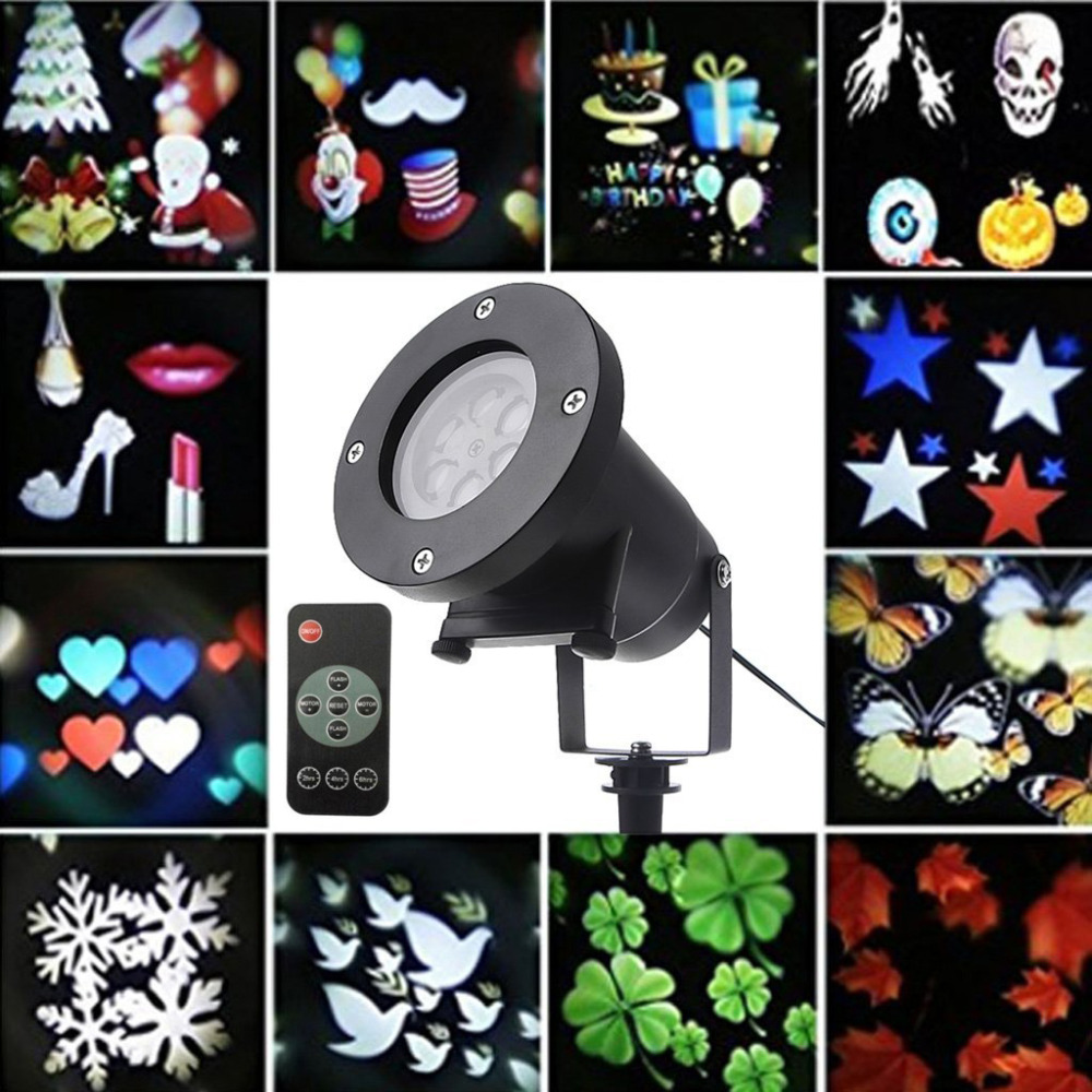 Outdoor Garden Moving Laser Projector Lamps 12 Pattern Christmas Decoration Landscape Projector Lights DJ Diso LED Stage LampOutdoor Garden Moving Laser Projector Lamps 12 Pattern Christmas Decoration Landscape Projector Lights DJ Diso LED Stage Lamp