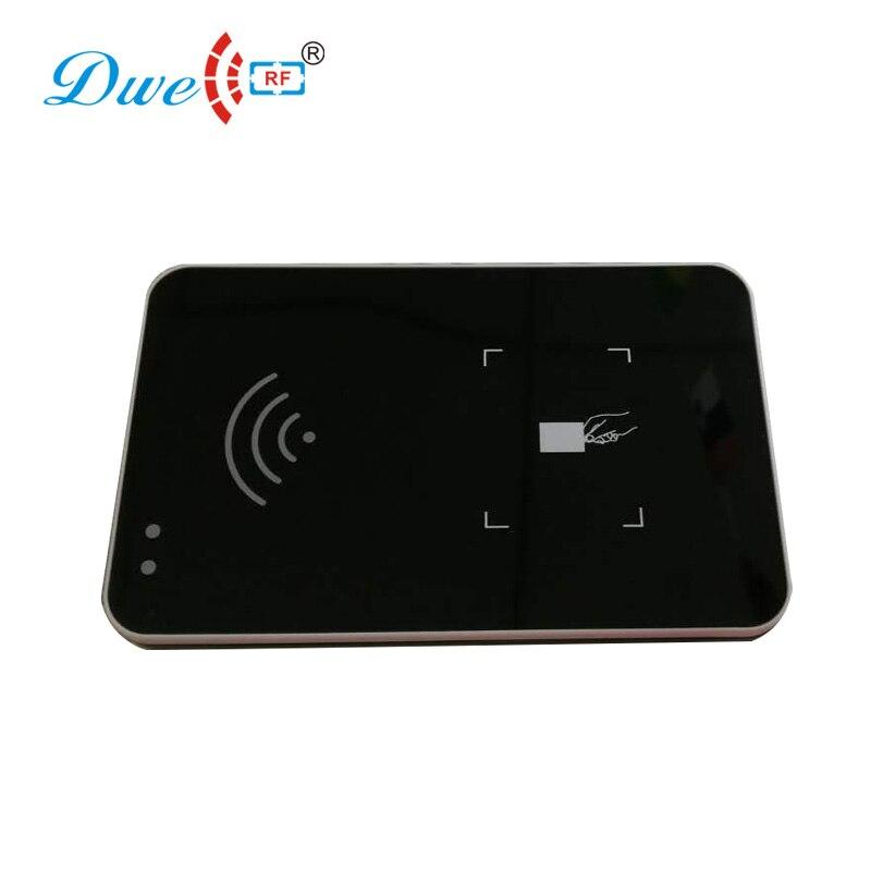 Logiciel de démonstration gratuit lecteurs de carte de proximité 902-928MHZ UHF epc gen2 passif tag USB lecteur de carte de bureau écrivain