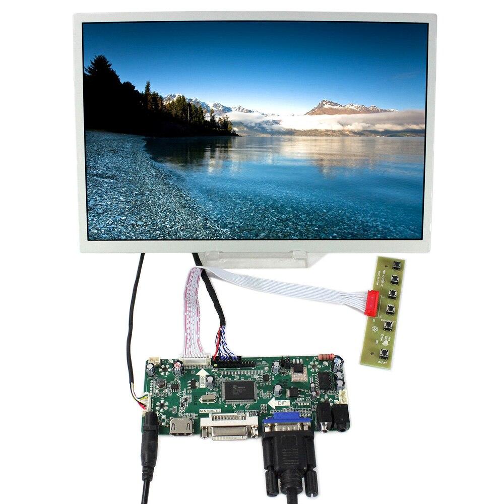 HDMI VGA DVI Audio lcd controller board NT68676 with 12.1inch LQ121K1LG52 1280x800 industrial lcd panelHDMI VGA DVI Audio lcd controller board NT68676 with 12.1inch LQ121K1LG52 1280x800 industrial lcd panel