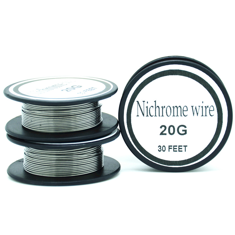Nichrome wire 20 Gauge 25 ft 0.8mm Cantal Resistance Resistor AWG ...