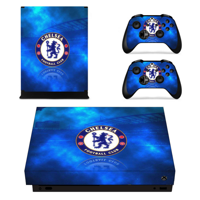 Chelsea Football Club Skin Sticker For Xbox One X Consoleskins Co