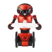Robô de controle remoto inteligente indução gravidade carregamento única roda de dança crianças electricToys lepin