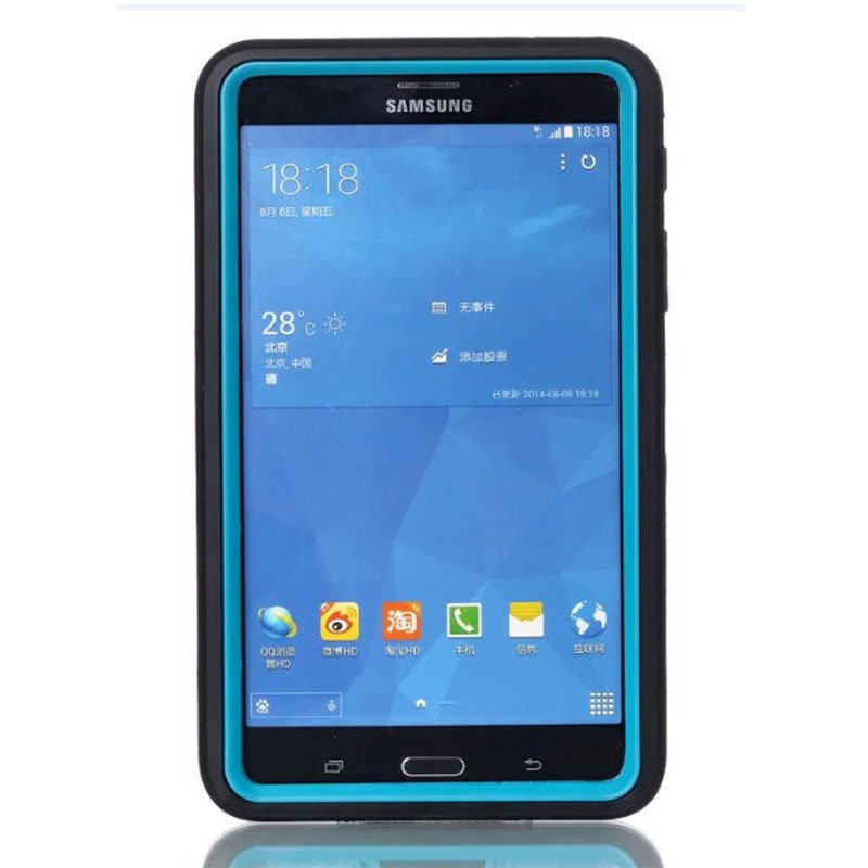 For Samsung Galaxy Tab 4 7.0 SM-T230 T231 T235 Case Hybrid Rugged Rubber Hard Plastic+Silicone High Impact Shockproof Cover аксессуар чехол samsung galaxy tab a 7 sm t285 sm t280 it baggage мультистенд black itssgta74 1