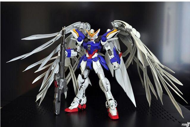 Discount 1:100 Mg Gundam 20cm Wing Zero Ew High Fly Up To