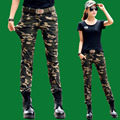 Womens Cargo Pants Camouflage Trousers for Army Pantalon Femme