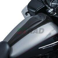 Carbon Fiber Smooth Dash Console Oil Fule console for Harley 2013 Tri Glide Ultra Classic Anniversary FLHTCUT