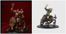 """Heroes of the Storm Cosplay Wolf Rider 26cm/10.2"""" Boxed Garage Kits Action Figures Model Toys"""