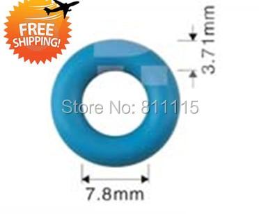 Fuel Injector Oring 7 8x3 7mm 500pcs free shipping Injector Rubber O rings Repair Kits Viton