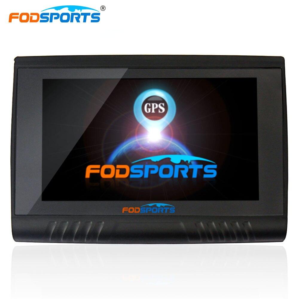 8 Fodsports 5.0 polegada Motocicleta Navegação GPS 256 mb gb Touch Screen Navegador GPS Bluetooth À Prova D' Água IPX5 Mapas Gratuitos