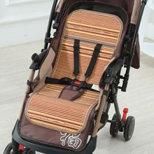 Summer Baby Stroller Cool Mat Natural Bamboo Pad Cushion Seat Liner Mattress Cover Universal Kids Protection Accessory