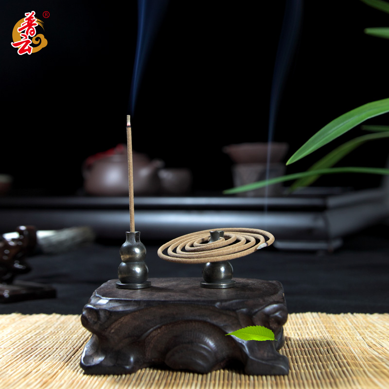 Molds For Artificial Stone Inserted Joss Stick Aloes Sandal Line Incense Burner The Censer Lie Sweet Fume Furnace Copper Holder china copper brass censer workmanship nine dragons play phoenix incense burner