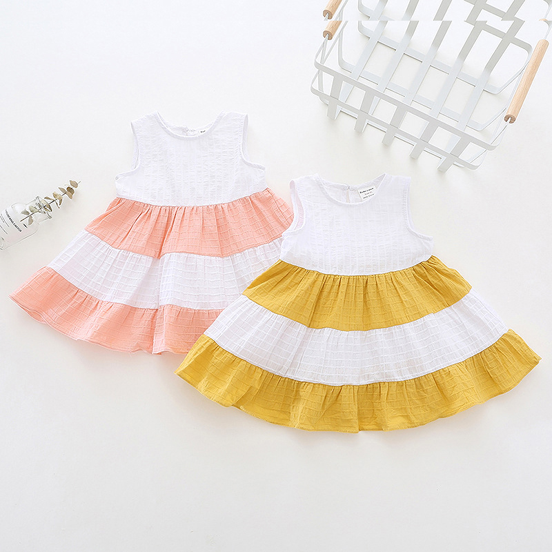Summer baby dress for girls clothes 2018 new 1 first birthday costumes girl party dress toddler girls infant clothing