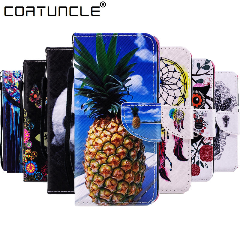 COATUNCLE Flip Leather For HTC M10 Case For Fundas HTC U11 Case For Coque HTC One M8 M9 Cover Wallet Silicone Stand Phone Case