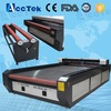 Acctek dual heads auto feeding fabric cnc CO2 laser cutting machine/usb co2 laser cutting machine engraver
