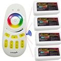 DC12V 24V 2.4G led Controller Wireless Remote and 4PCS RGB 4-zone RGB LED Controller  For 5050 3528 RGB Led Flexible Strip Light