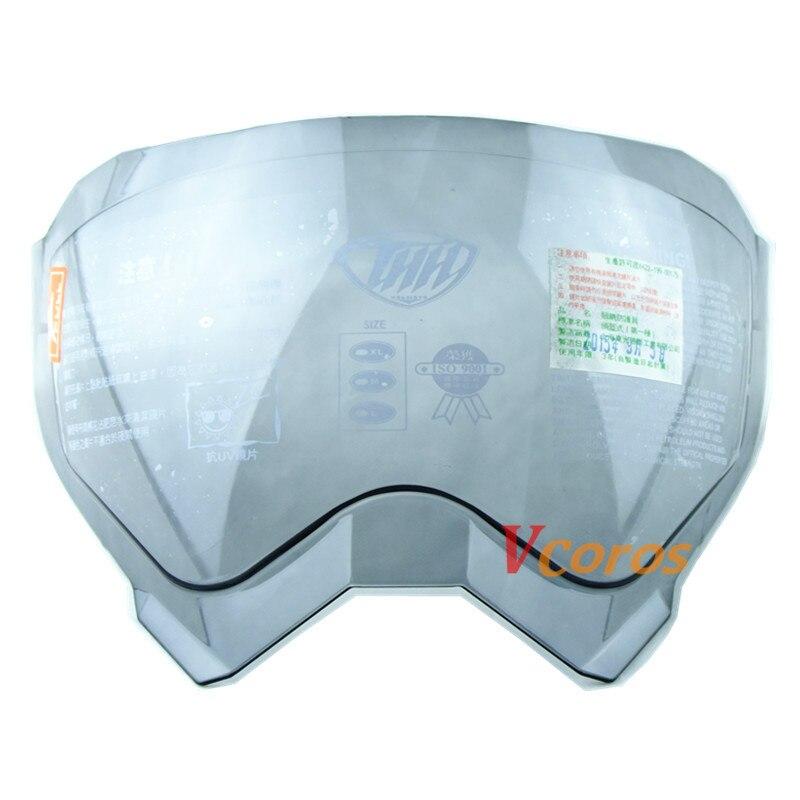 77d782ea THH TX27 motorcycle helmet shield lens for AFX FX 41 motocross helmet glass  visor For oneal Sierra Dual Sport Sniper helmet-in Helmets from Automobiles  ...