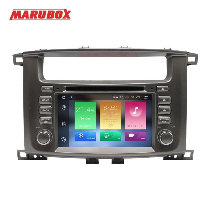 "100% Kwaliteit Marubox 2din Android 8.0 4 Gb Ram 7 ""voor Land Cruiser 100 Gps Navi Stereo Radio Auto Multimedia Speler Hoofd Unit Systeem 7a112px5 Zorgvuldige Verfprocessen"