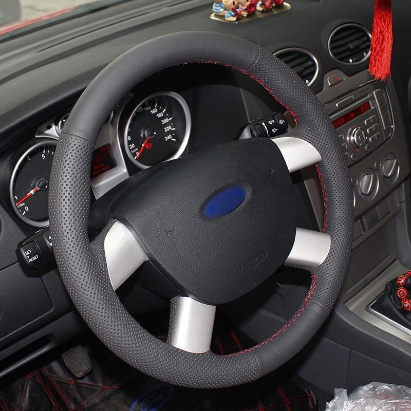 BANNIS Black жасанды былғары DIY Ford Kuga үшін - Автокөліктің ішкі керек-жарақтары - фото 3