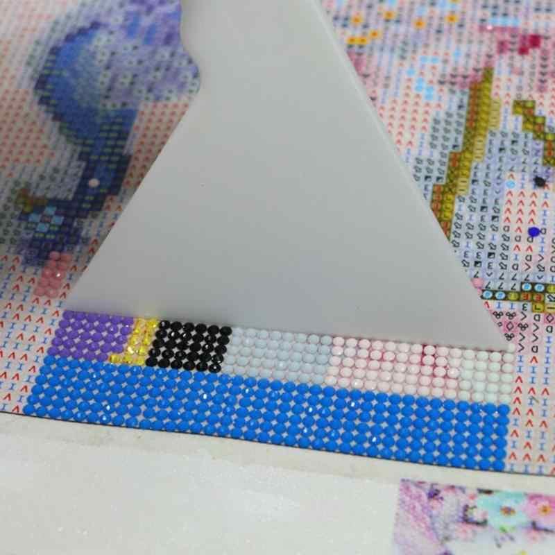 יהלומי ציור ציור שמאי תיקון עובש רקמת קרפט מתקן 14*10 cm עבור עגול כיכר יהלום